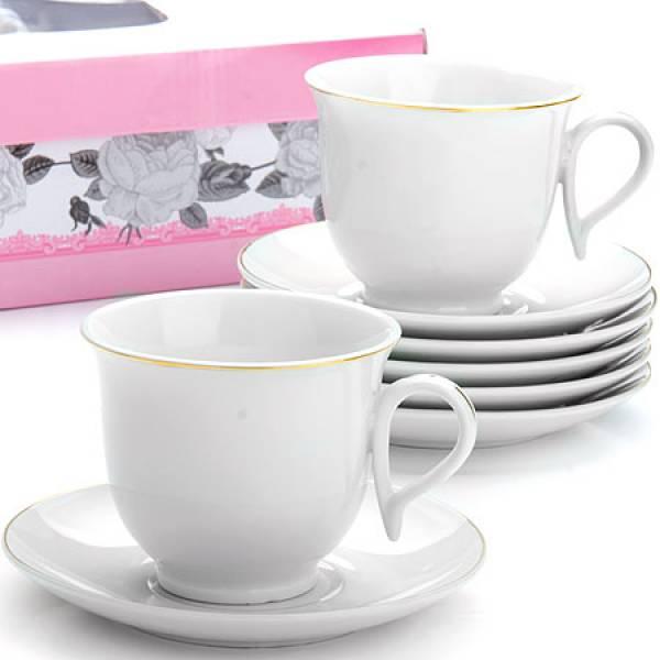 25932 Чайный сервиз 12пр 220мл в под/упак LORAINE