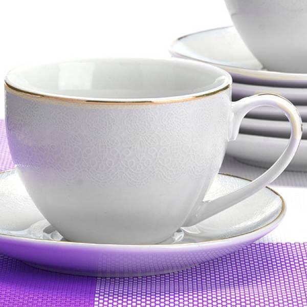 26416 Чайный сервиз 12пр 220мл в под/упак LORAINE