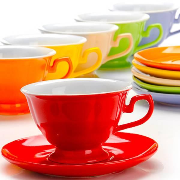26554 Чайный сервиз 12пр 240мл в под/упак LORAINE
