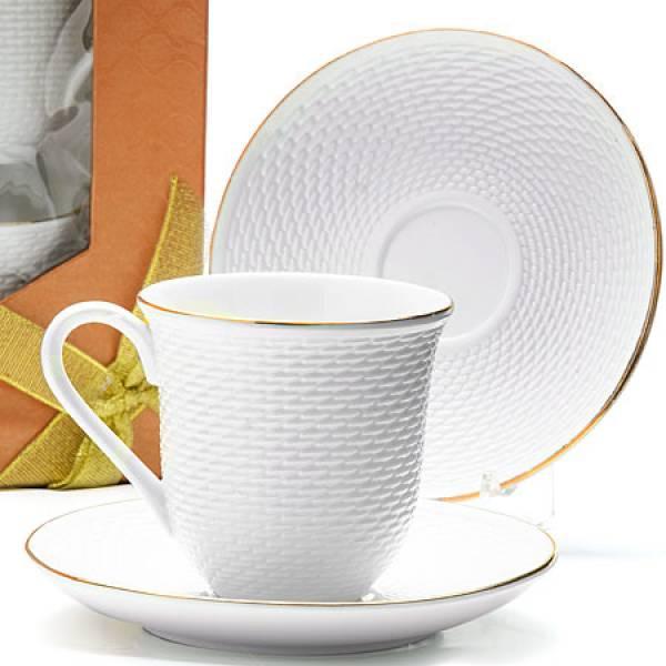 25775 Чайный набор 8пр 240мл фарфор LORAINE (х16)