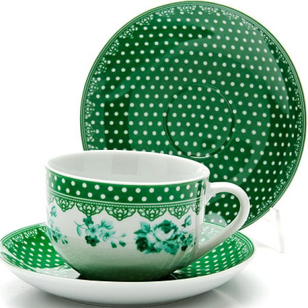 25909 Чайный набор 12пр чашка+блюдце LR (х6)