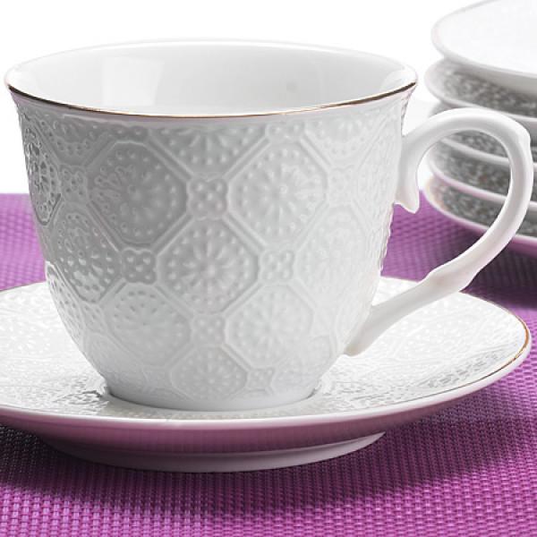 26505 Чайный сервиз 12пр 200мл в под/упак LR (х8)