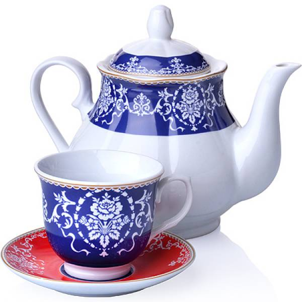 27842 Чайный сервиз 13 пр фарфор 220мл LORAINE