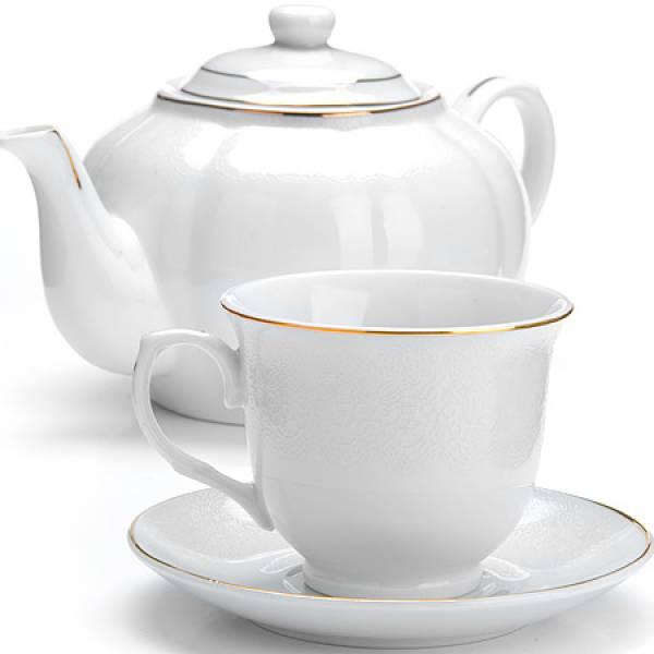 26419 Чайный сервиз 13пр (220мл+1л чайник) LORAINE