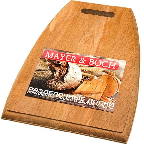 10-1 Доска разделочная трапеция MAYER&BOCH