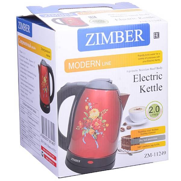 11249 Чайник электрический 2 л 1500Вт ZIMBER