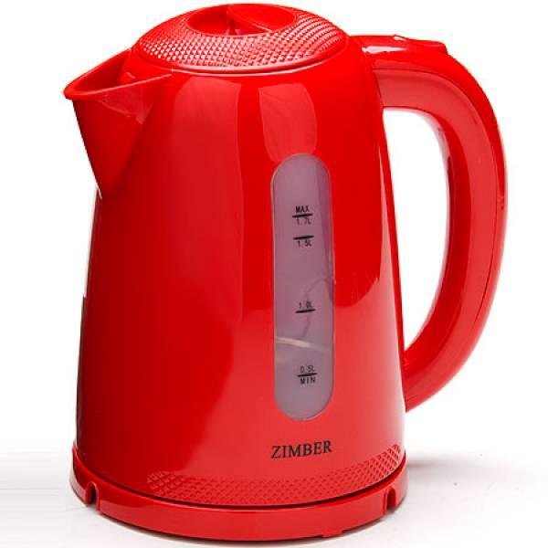 11028 Чайник электр. пласт. 1,7л 2200Вт ZIMBER
