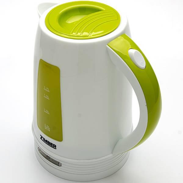 10846 Чайник электрический диск 1.7л 2200Вт ZIMBER