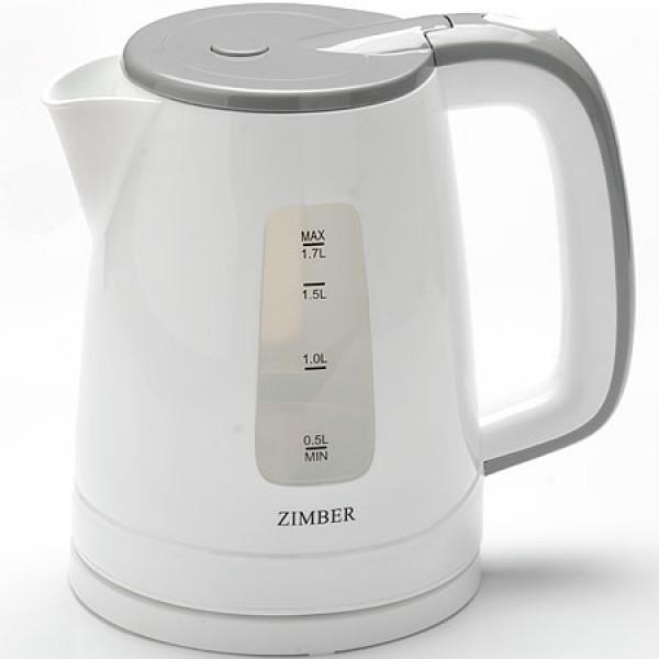 11111 Чайник спираль ПОДСВЕТКА 1,7л пласт/кор 2200Вт ZM (х6)