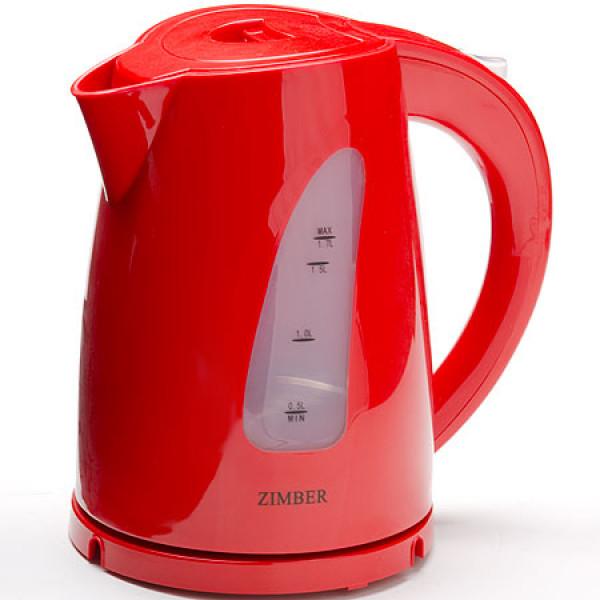 11029 Чайник электр. пласт. 1,7л 2200Вт ZIMBER
