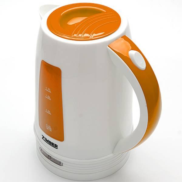 10848 Чайник электрический диск 1.7л 2200Вт ZIMBER