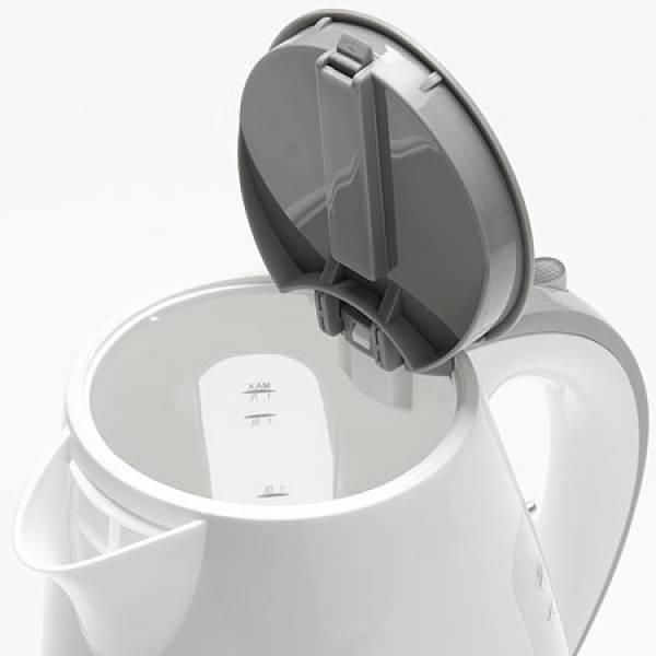 11105 Чайник дисковый 1,7л пласт/кор 2200Вт ZIMBER