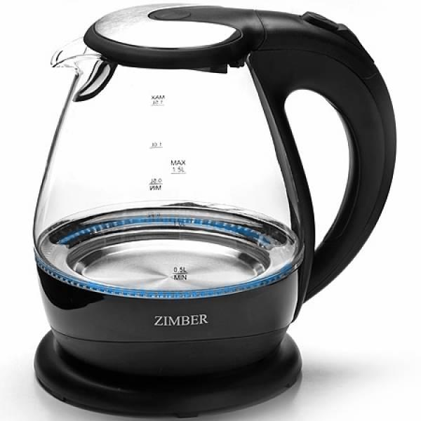11183 Эл. чайник 1,5л 2200Вт с подсветкой ZIMBER