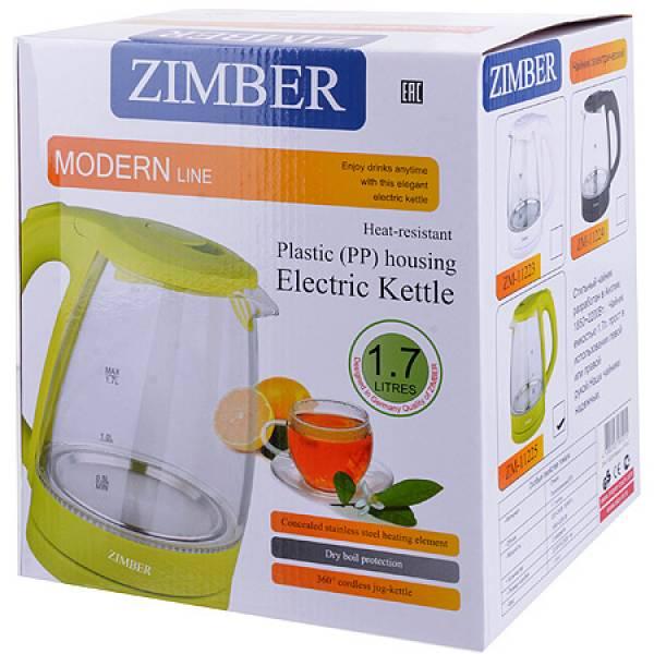 11223 Эл. чайник 1,7л 2200Вт с подсветкой ZIMBER