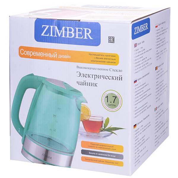 11237 Эл. чайник 1,7л 2200Вт с подсветкой ZIMBER