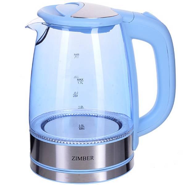 11238 Эл. чайник 1,7л 2200Вт с подсветкой ZIMBER