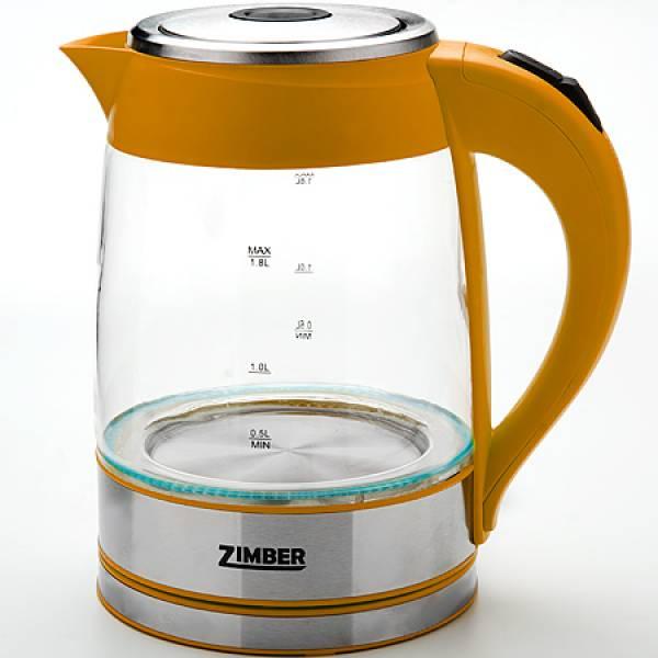 10819 Эл.чайник 1,8л.ZM стек.2000Вт с подсвет.