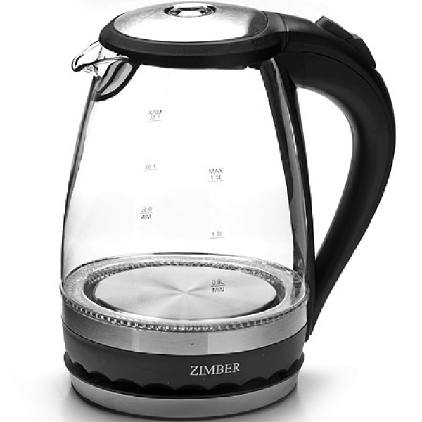 11179 Эл. чайник 1,5л 2200Вт с подсветкой ZIMBER