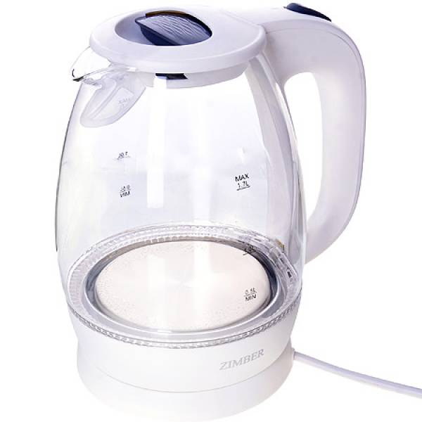 11250 Эл. чайник 1,7л 2200Вт с подсветкой ZIMBER