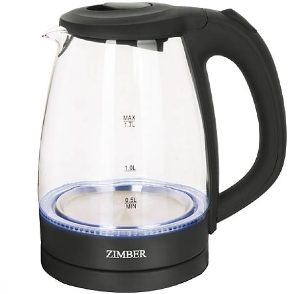 11224 Эл. чайник 1,7л 2200Вт с подсветкой ZIMBER