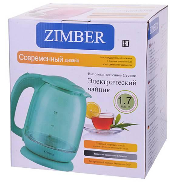 11240 Эл. чайник 1,7л 2200Вт с подсветкой ZIMBER