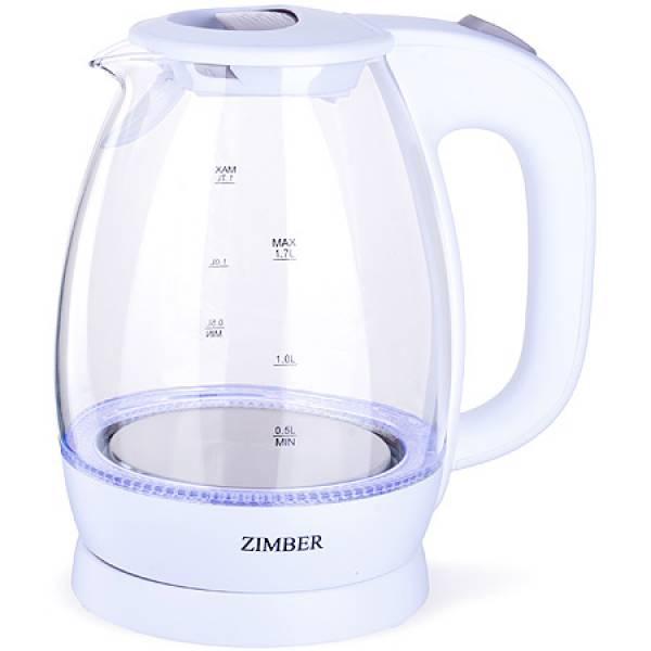 11222 Эл. чайник 1,7л 2200Вт с подсветкой ZIMBER
