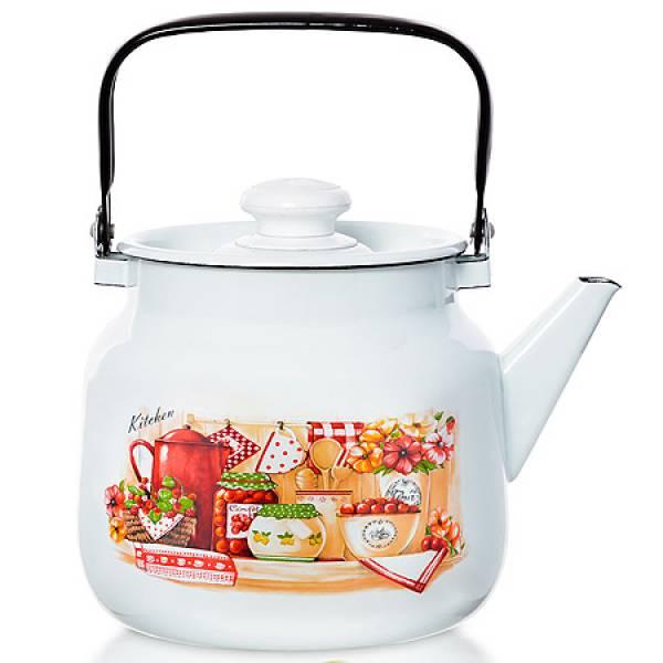 71711 Чайник эмаль 3,5л Кухня