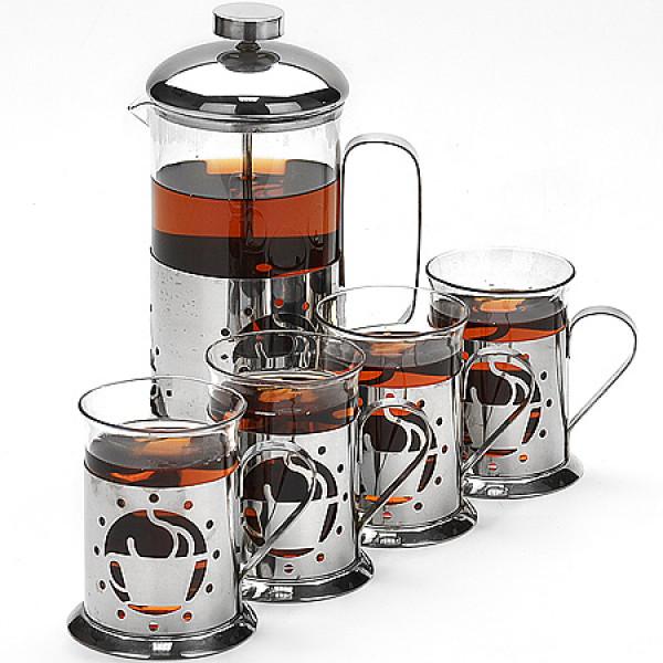 24925 Кофейный набор 5пр (600-200мл) LR (х12)