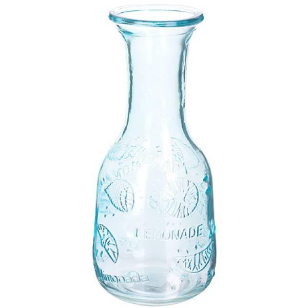 27812-1 Графин стеклянный 1 литр ГОЛУБОЙ LORAINE