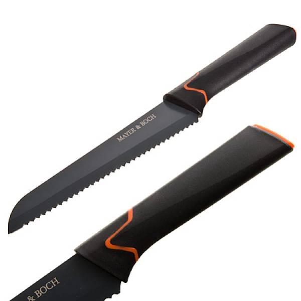 29453 Нож хлебный на блистере 32,5 см.