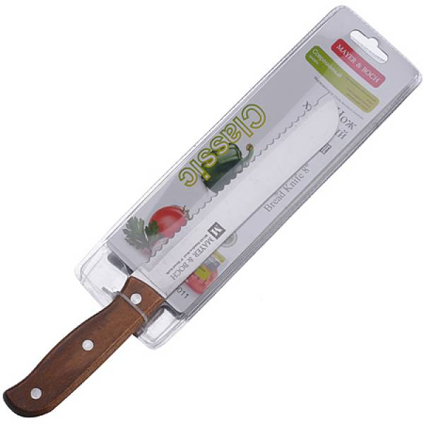 28011 Нож 19 см CLASSIC хлебный MAYER&BOCH