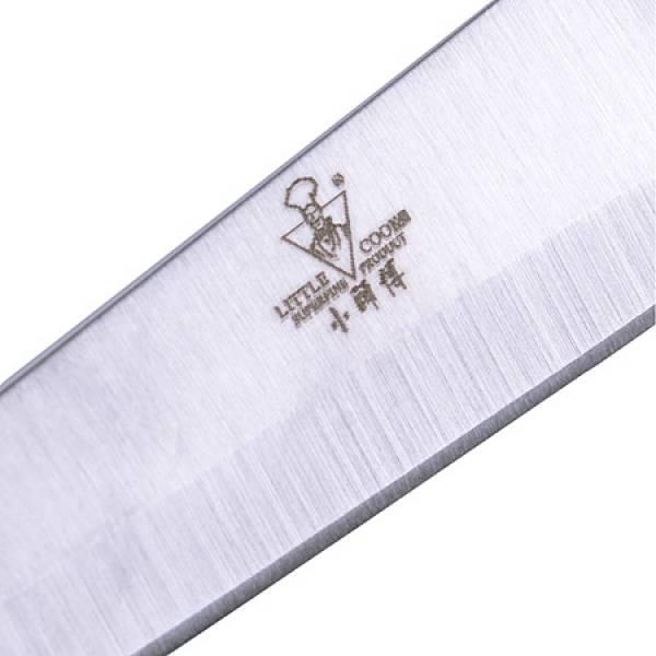 06A-SS Нож в упаковке силикон/руч 20см MAYER&BOCH