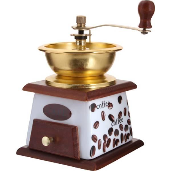 27828 Кофемолка ручная 2пр мет/воронка MB (х30)