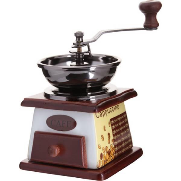 27830 Кофемолка ручная 2пр мет/воронка MB (х30)