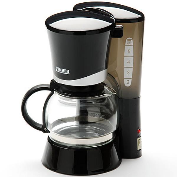 10687 Эл.кофеварка ЧЕРНАЯ 0,6л 700Вт ZM (х6)