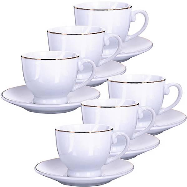 25610 Кофейный набор 12пр 90мл в под/упак LORAINE