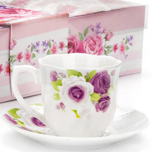 25957 Кофейный набор 12пр (чашка+блюдце) LR (х12)