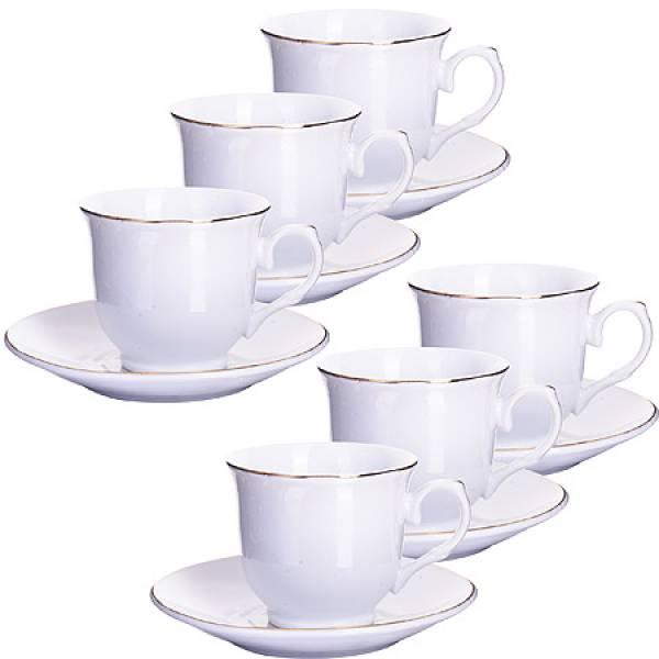25612 Кофейный набор 12пр 90мл в под/упак LORAINE