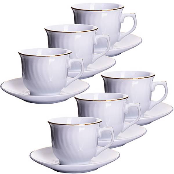 25611 Кофейный набор 12пр 90мл в под/упак LORAINE