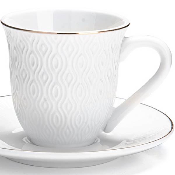 26821 Кофейный сервиз 12пр 90мл в под/уп LORAINE
