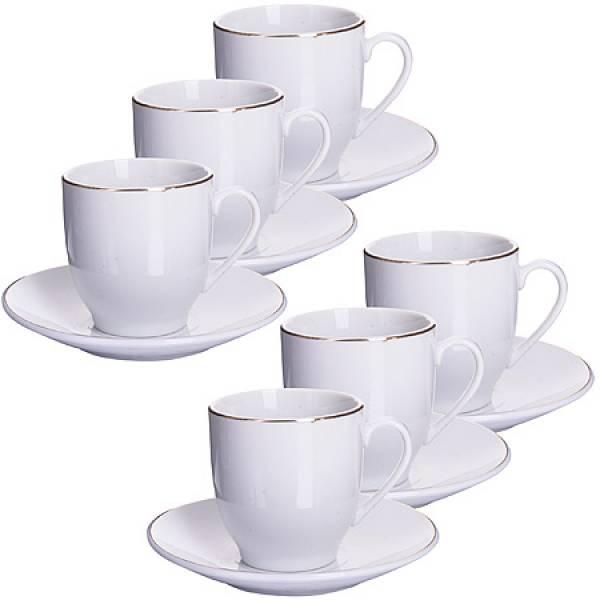 25609 Кофейный набор 12пр 90мл в под/упак LORAINE