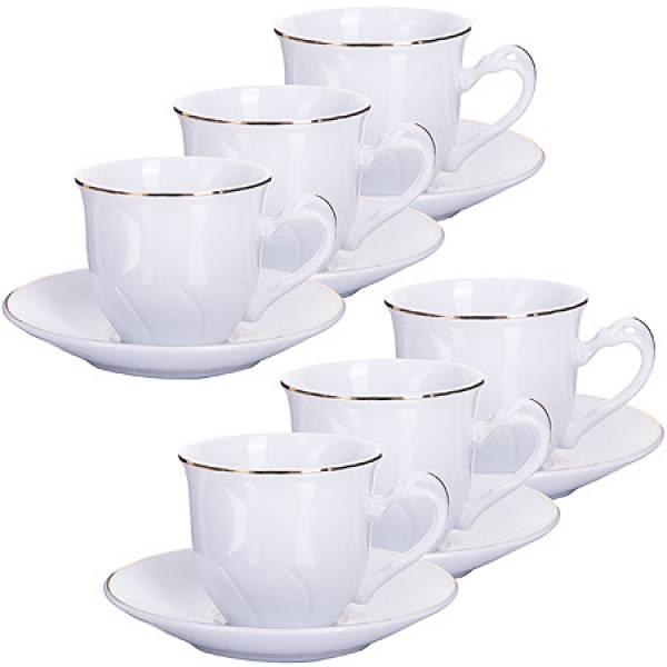 25607 Кофейный набор 12пр 90мл в под/упак LORAINE