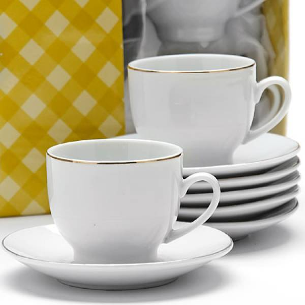 25610 Кофейный набор 12пр 90мл в под/упак LR (х12)