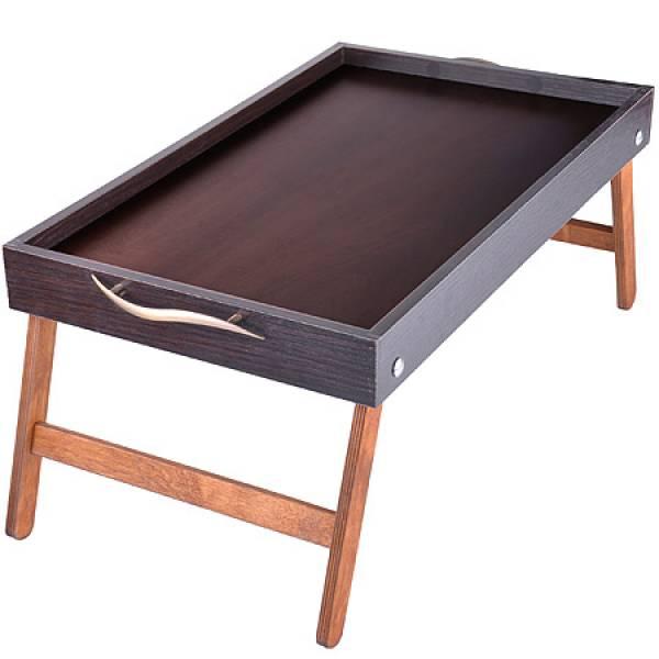 8897 Столик для завтрака 50см Бамбук MAYER&BOCH