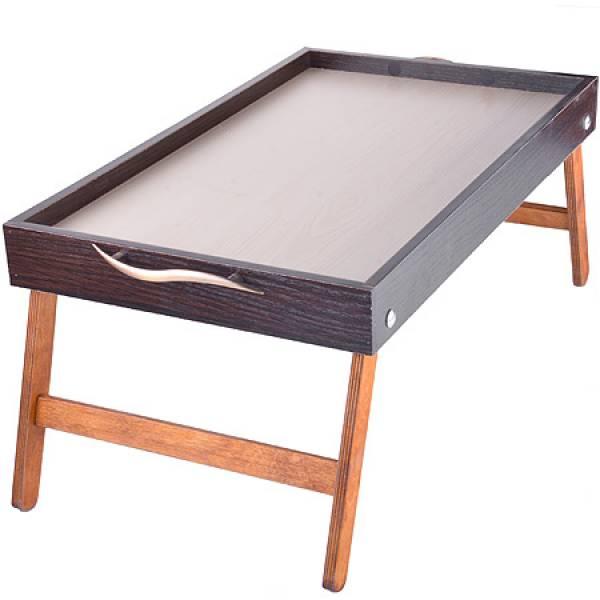 8898 Столик для завтрака 50см Бамбук MAYER&BOCH