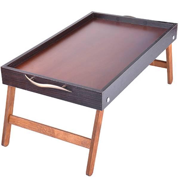 8899 Столик для завтрака 50см Бамбук MAYER&BOCH