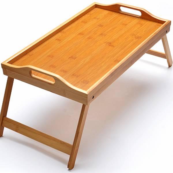 27358 Столик для завтрака 30см Бамбук MAYER&BOCH