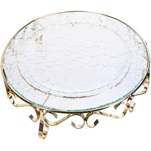 28670 Блюдо стеклянное 35 см LR (х6)