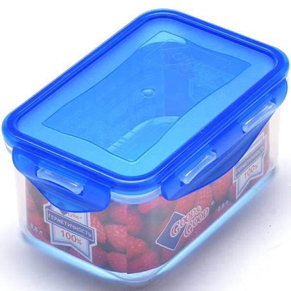 2-2-L Контейнер пластик 800мл цв/кр