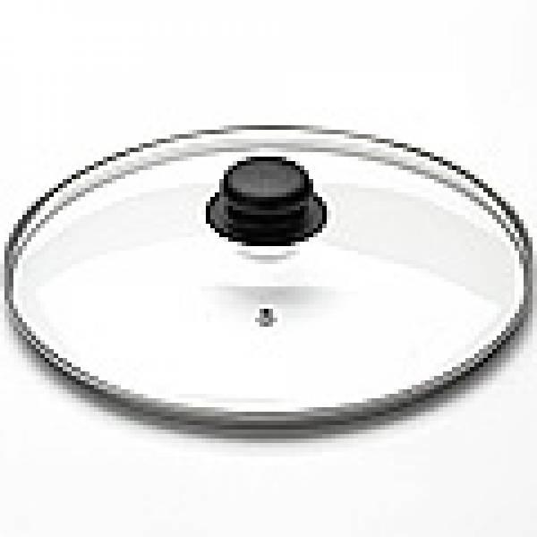 4730 Крышка стеклянная с метал/обод 30см(х10)